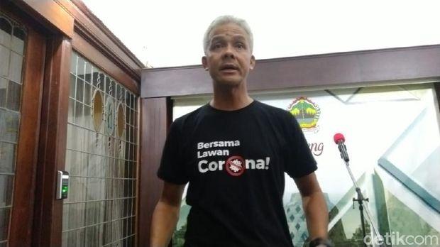 Gubernur Jateng Ganjar Pranowo