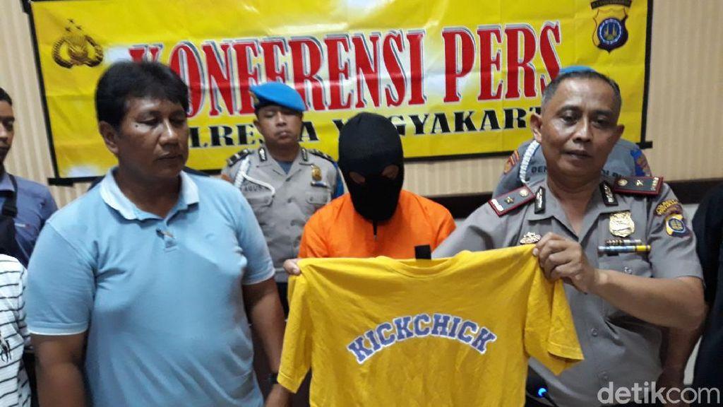 Pemotor yang Viral Culik dan Buka-buka Rok di Yogya Ditangkap!