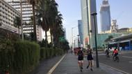 CFD Ditiadakan Antisipasi Corona, Warga Tetap Antusias Olahraga di Bundaran HI