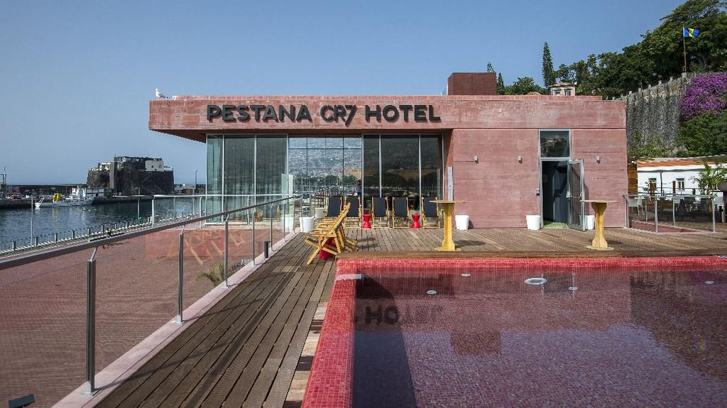 Ini Hotel Mewah Ronaldo yang Kabarnya Dirombak Jadi RS Khusus Corona