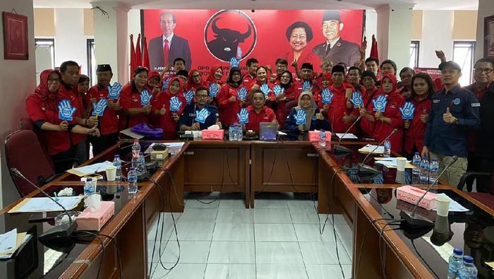 PDIP bekerja sama dengan BNN Tes Urine Calon Ketua PAC Jakarta