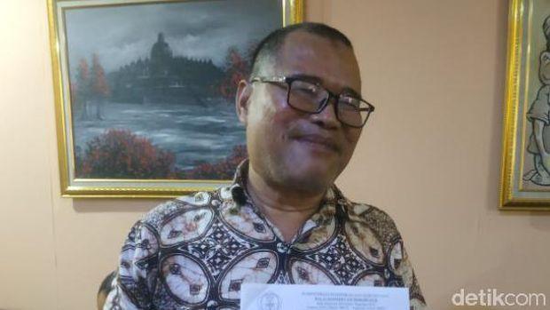 Kepala Konservasi Borobudur (BKB) Tri Hartono