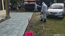 Cegah Corona, Asrama Polri Bandara Soetta Disemprot Disinfektan