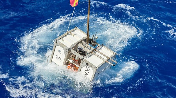 EYOS Expeditions bekerja sama dengan perusahaan selam bawah laut swasta Caladan Oceanic menjadi perusahaan pertama di dunia yang akan membuka perjalanan ke sana. Mereka menawarkan pengalaman ini untuk umum (Foto: EYOS Expeditions/CNN)