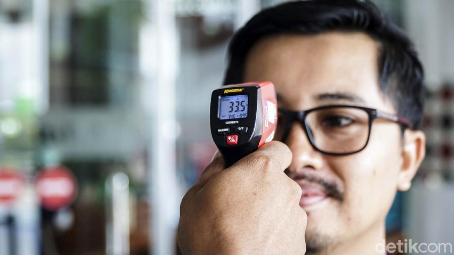 Termometer Tembak: Akurat Nggak?