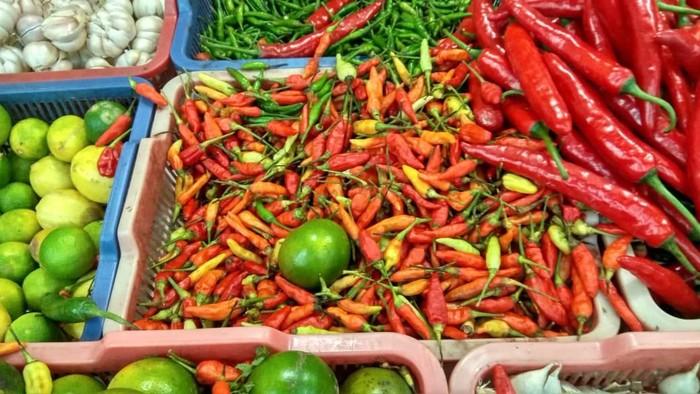 Dipengaruhi Corona Harga Cabai Rawit Merah Tembus Rp 50 000 Kg
