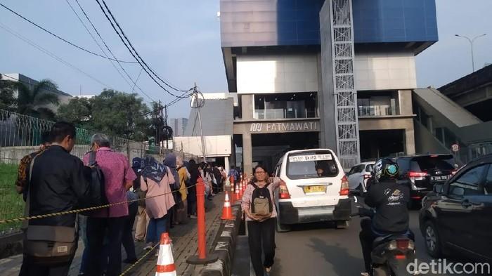 Stasiun MRT Fatmawati (Wilda Hayatun Nufus/detikcom)