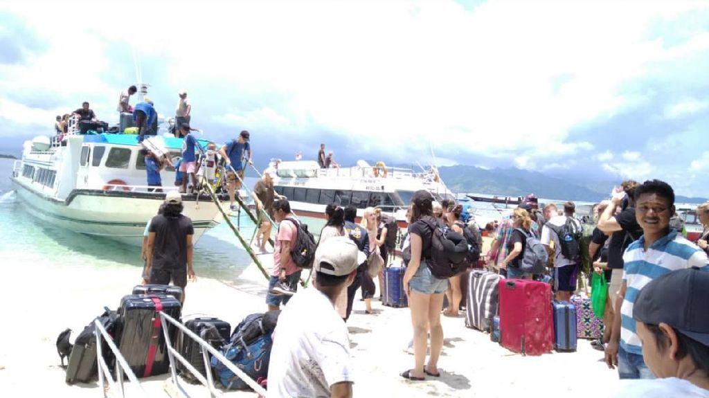 Antisipasi Corona, Pelayaran ke Tiga Gili di Lombok Ditutup Sementara