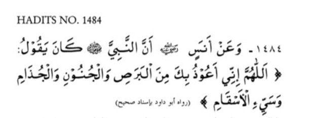 Doa Rasulullah SAW Berlindung dari Keburukan Segala Penyakit