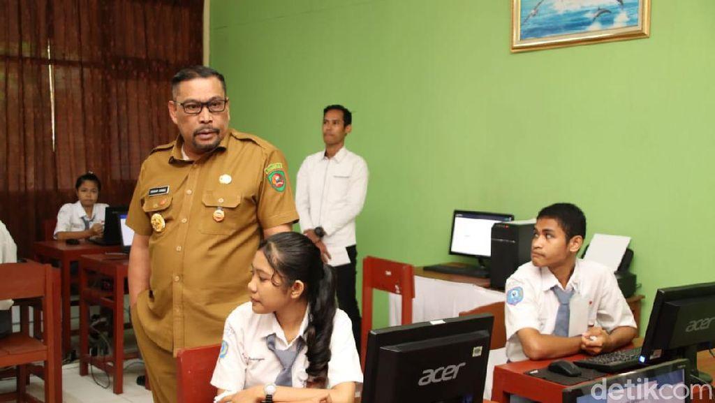 Belum Ada Indikasi Corona, Gubernur Maluku Tak Liburkan SMU-UNBK Tetap Jalan