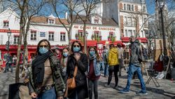 Dalam Sehari, Prancis Laporkan 541 Kematian Akibat Corona di Rumah Sakit