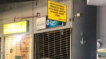 Stan Makanan di PGS Terbakar, Diduga Akibat Ledakan Kompor