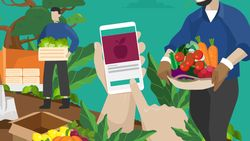 #JagaJarakDulu, Ini Aplikasi yang Mudahkan Beli Sayur Online