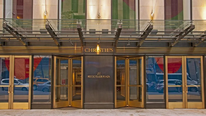 Mandatory Credit: Photo by imageBROKER/Shutterstock (3468423a) Christies auction house, Rockefeller Plaza VARIOUS