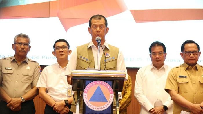 Kepala BNPB sekaligus Ketua Gugus Tugas Percepatan Penanganan Covid-19 Letjen Doni Monardo