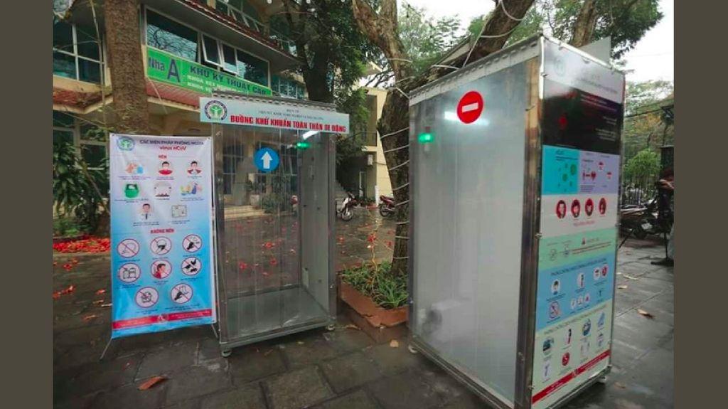 Viral, Ruang Sterilisasi Portabel di Vietnam Untuk Lawan Corona