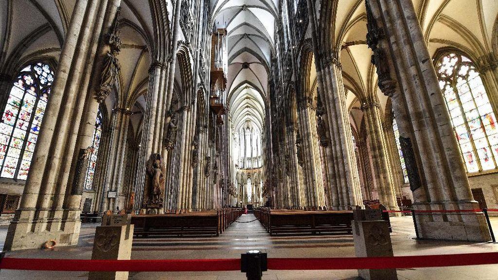 Jerman Dihajar Corona, Gereja Cologne Sunyi Sepi