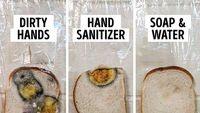 Percobaan Roti Berjamur Tunjukkan Kuman dan Virus Tak Bisa Mati dengan Hand Sanitizer