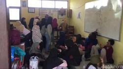 Antisipasi Corona, Ratusan Siswa SMP Dicek Kesehatan Usai Pulang Study Tour