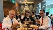 Sebelum Positif Corona, Ini Momen Kuliner Menhub Budi Karya