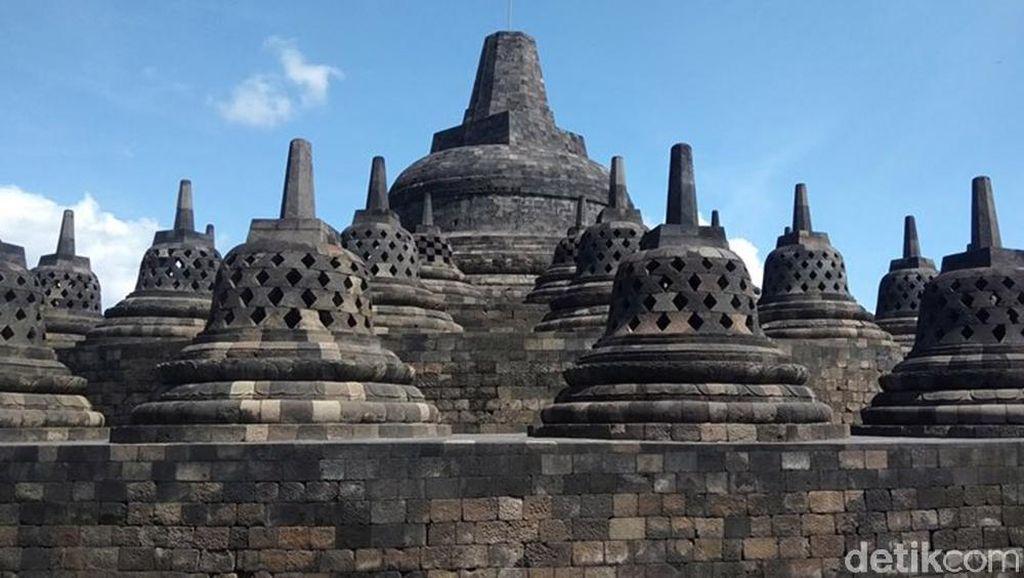 Drone Jatuh di Candi Borobudur