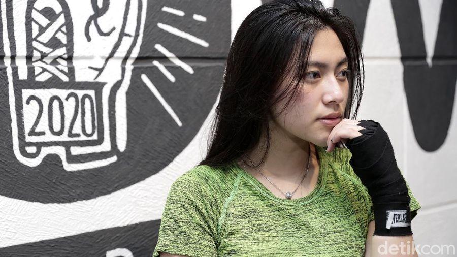 Resiah Lim saat ditemui di kawasan Gading Serpong, Tangerang.