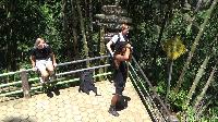 Akibat virus Corona membuat kunjungan wisatawan mancanegara di wisata di kaki Gunung Semeru tersebut mengalami penurunan sebesar20 persen (Foto: Nur Hadi Wicaksono/detikcom)
