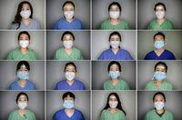 Foto Perban di Wajah, Penghargaan untuk Perawat Virus Corona yang Bikin Haru