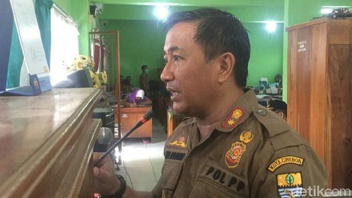 Kepala Satpol PP Kota Cirebon Andi Armawan