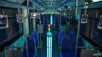 China Pakai Sinar UV untuk Bersihkan Bus