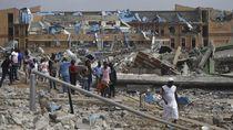 Video Ledakan Gas di Nigeria, 15 Orang Tewas