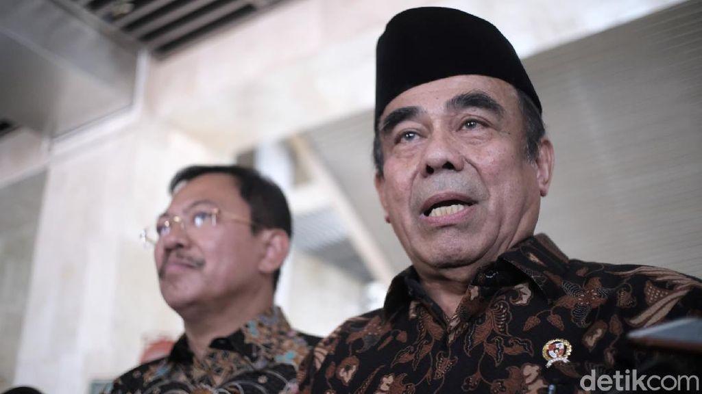 Soal Isu Reshuffle Kabinet, Menag: Itu Urusan Presiden