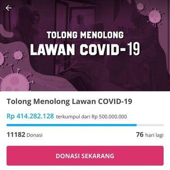 Rachel Venya Himpun Donasi Cegah Corona, Kurang dari 24 Jam Terkumpul Rp 1 M