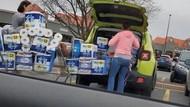 Aksi Memalukan Borong Tisu Toilet Gegara Corona Diviralkan