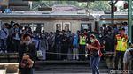 Aktivitas Penumpang KRL di Jakarta Masih Normal