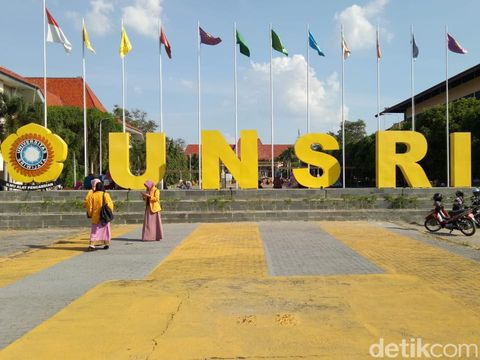 Universitas Sriwijaya (Unsri) (Raja Adil/detikcom)