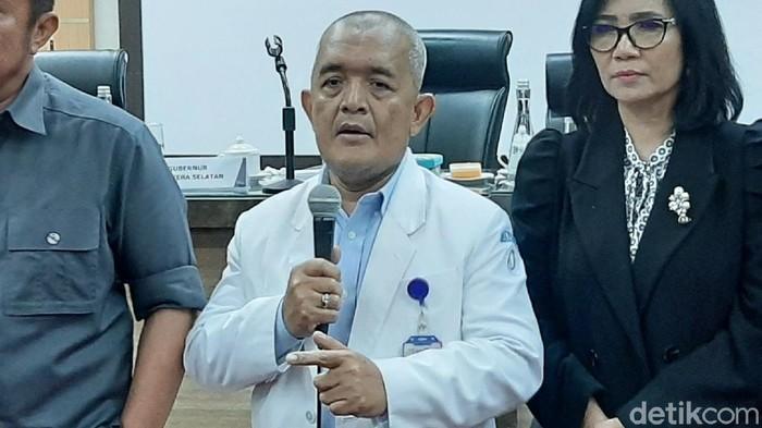 Juru bicara tim Satgas Pencegahan Virus Corona untuk Pemprov Sumsel, Yuwono.