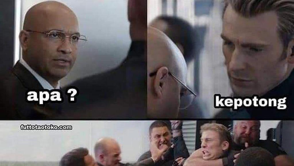 Kocaknya Meme Percakapan Captain America Saat Tebak-tebakan Soal Kuliner