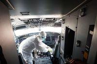 Lion Air 'Mandikan' Pesawat Pakai Disinfektan