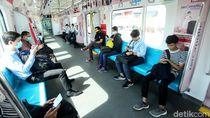 4 Penumpang MRT Dukuh Atas Positif Virus Corona Usai Swab Test