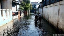 Curah Hujan Tinggi, 7 RW di Jakarta Terendam Banjir