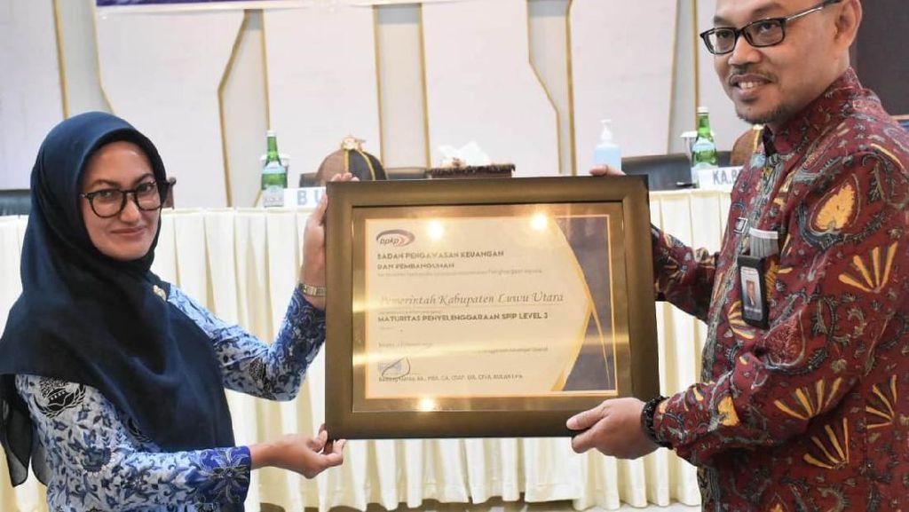 Pemkab Luwu Utara Raih 2 Penghargaan Pengelolaan Keuangan Daerah