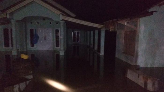 Banjir di Kabupaten Pesawaran, Lampung.