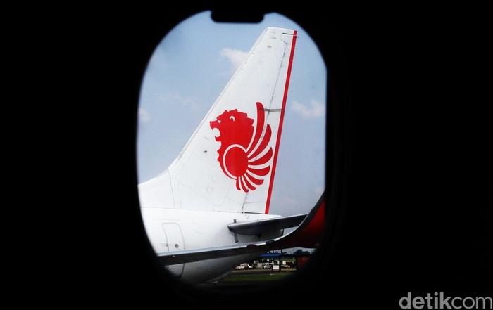 Ilustrasi pesawat Lion Air