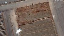 Foto Satelit Kuburan Massal Iran di Tengah Pandemi Corona Bikin Curiga