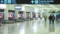 Meluasnya Virus Corona, Operasional Terminal 1 dan 2 Bandara Soetta Dibatasi