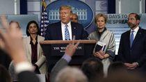 Video Negatif Corona, Donald Trump Pamerkan Hasil Diagnosis