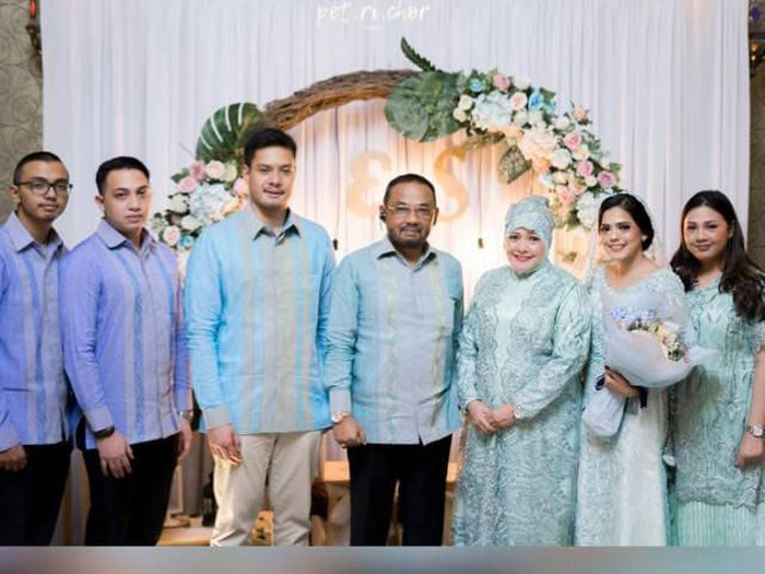 Pengantin di Jakarta tunda pesta nikah karena virus corona. Foto: dok. Pribadi Naser Saleh