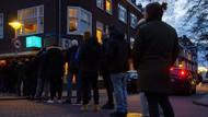 Potret Warga Belanda Antre Beli Ganja Sesaat Sebelum Lockdown