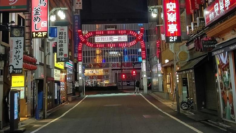 Kawasan prostitusi di Jepang.